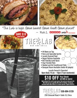 The Lab Bar and Grill