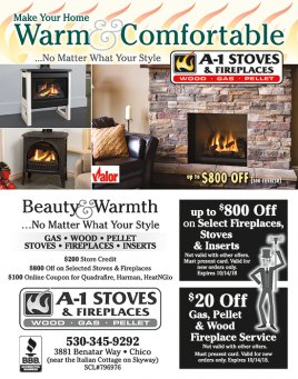 A-1 Stoves, Chimneys and Awnings