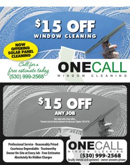 One Call Window Cleaning