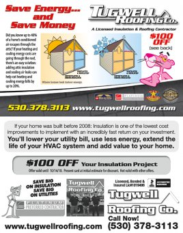 Tugwell Roofing - Insulation