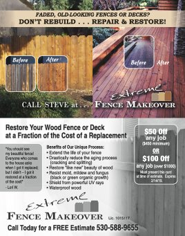 EXTREME Fence Makeover