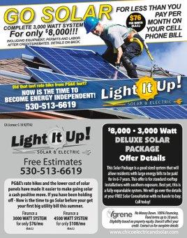 Light It Up! Solar & Electric