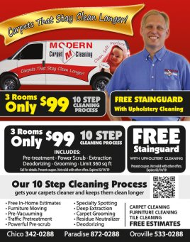 Modern Carpet Cleaning
